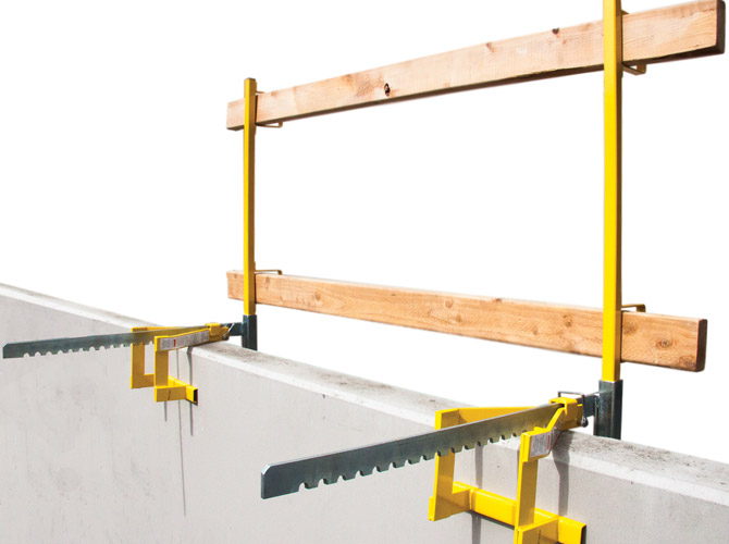 The Parapet Clamp Guardrail